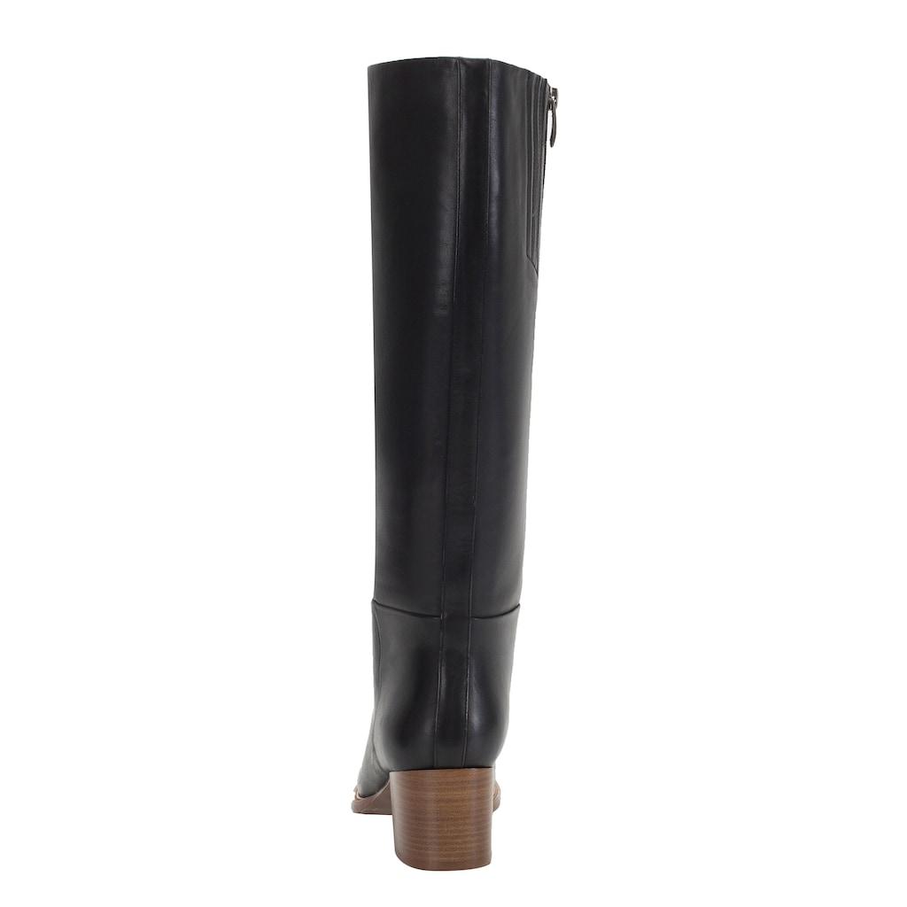 ekonika Stiefel, hergestellt aus echtem Leder