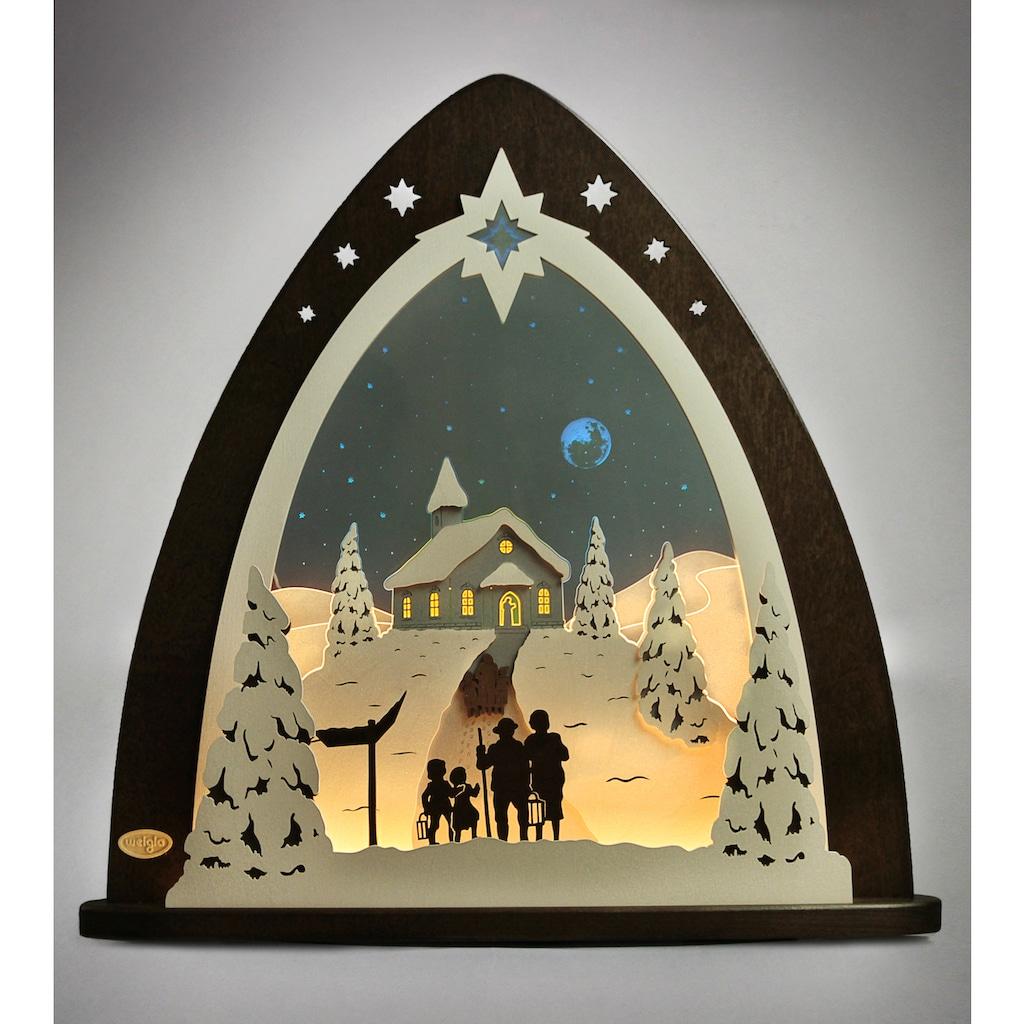 Weigla Lichterbogen »Bergkapelle«, in 3D Optik