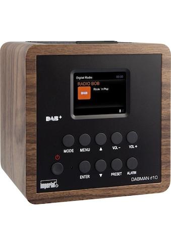 IMPERIAL DAB+ Digital -  und UKW Radiowecker mit Snooze - Funktion »DABMAN d10« kaufen