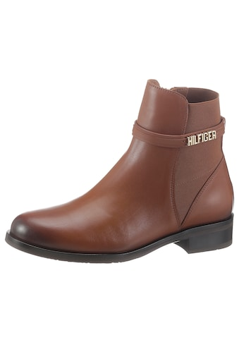 TOMMY HILFIGER Chelseaboots »BLOCK BRANDING FLAT BOOT« kaufen