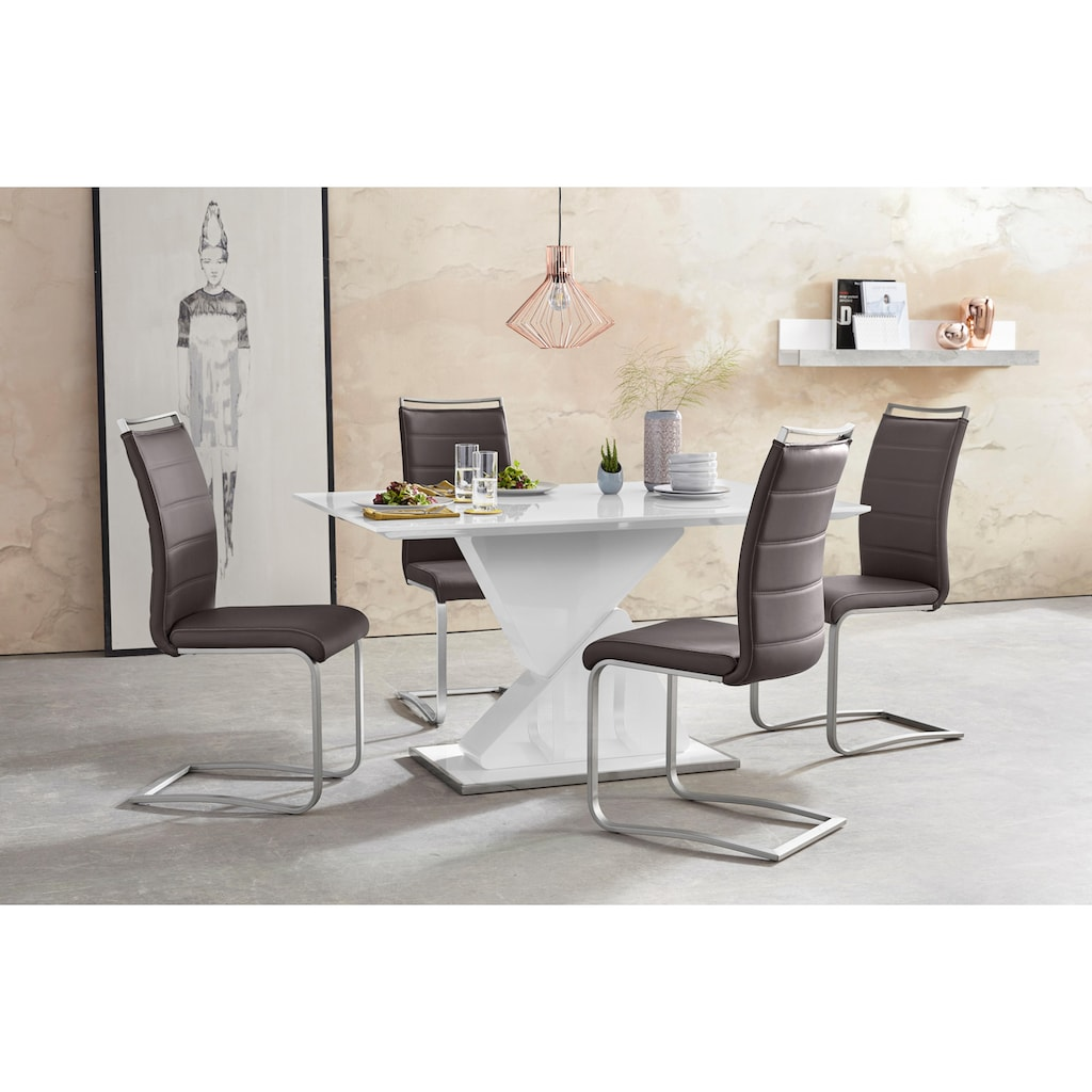 MCA furniture Freischwinger »Pescara«, Stuhl belastbar bis 120 Kg