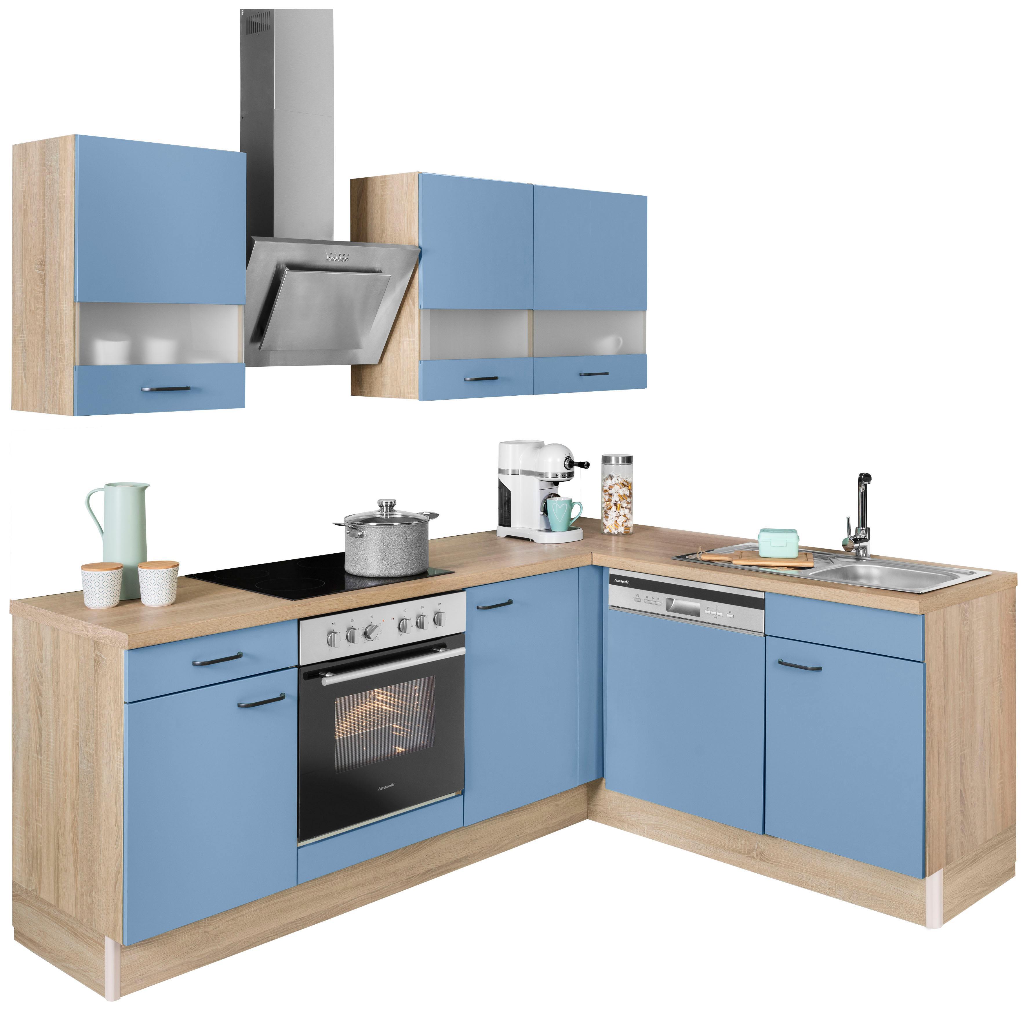 OPTIFIT Winkelküche Elga | Küche und Esszimmer > Küchen > Winkelküchen | Blau | Optifit