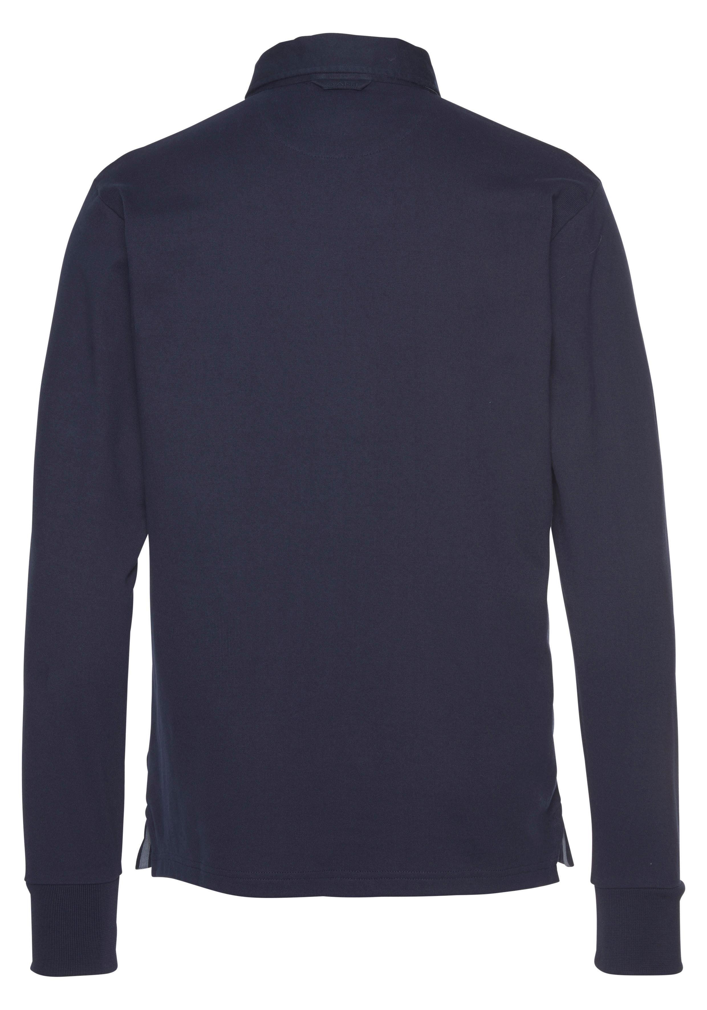 Gant Langarm-Poloshirt | Bekleidung > Shirts > Langarm Shirts | Blau | Gant