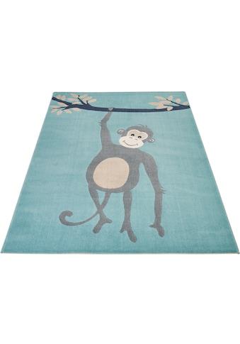 Zala Living Kinderteppich »Monkey Miles«, rechteckig, 9 mm Höhe kaufen