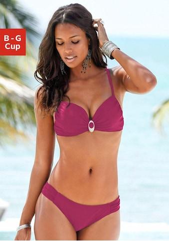 LASCANA Bügel-Bikini, mit edler Zierschnalle kaufen
