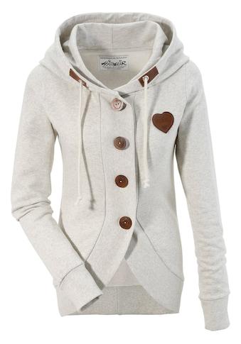Hangowear Trachtensweatjacke Damen mit Kapuze kaufen