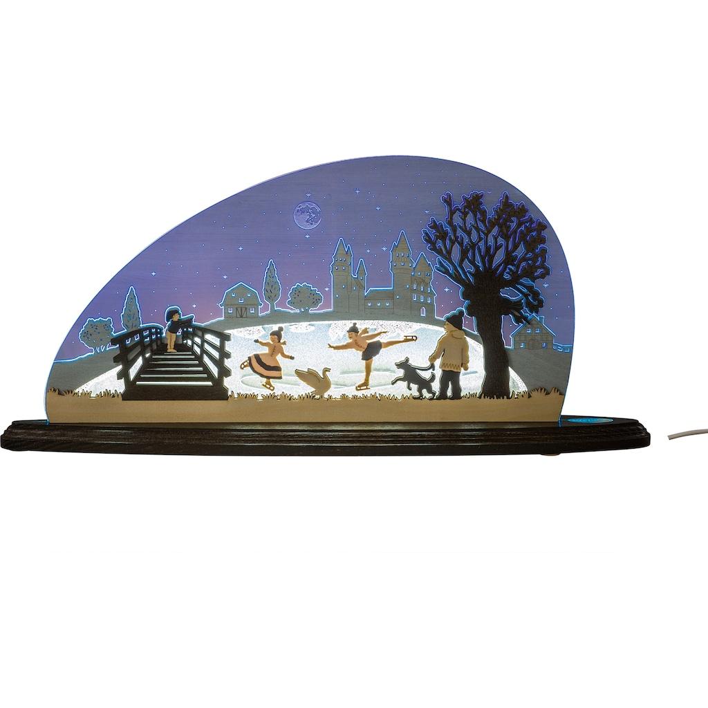 Weigla LED Lichterbogen »Eiszauber«, 1 tlg., Motivleuchte