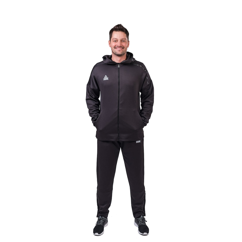 PEAK Sportanzug, mit praktischen Reißverschlusstaschen