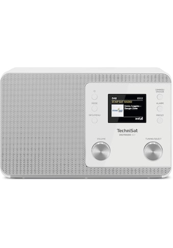 TechniSat Digitalradio (DAB+) »DIGITRADIO 307«, ( Digitalradio (DAB+) 5 W), TFT, Uhr, Sleeptimer, Wecker kaufen