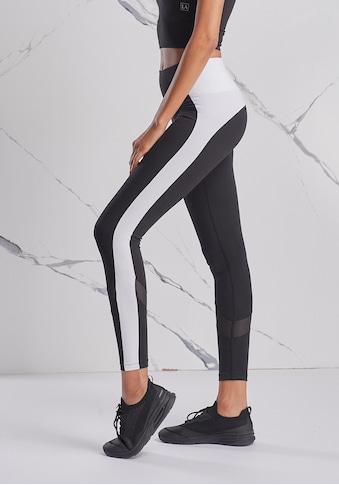 LASCANA ACTIVE Leggings, mit Mesheinsatz kaufen