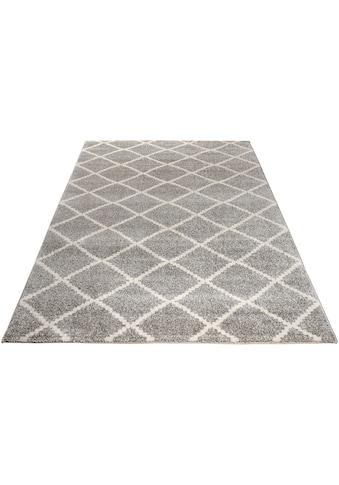 andas Teppich »Arvid«, rechteckig, 14 mm Höhe, modernes Design, Wohnzimmer kaufen