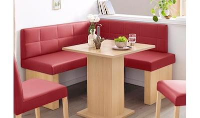 SCHÖSSWENDER Eckbank »Anna 2«, Schenkel gleichschenkelig 130 cm kaufen