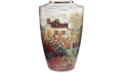 """Goebel Tischvase »Vase Claude Monet - """"Das Künstlerhaus""""«, aus Porzellan, Höhe ca. 24 cm kaufen"""