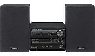 Panasonic Kompaktanlage »SC-PM250«, (Bluetooth FM-Tuner mit RDS ) kaufen