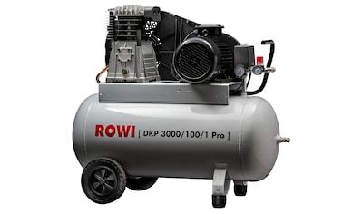 ROWI Kompressor »DKP 3000/100/1 Pro« kaufen