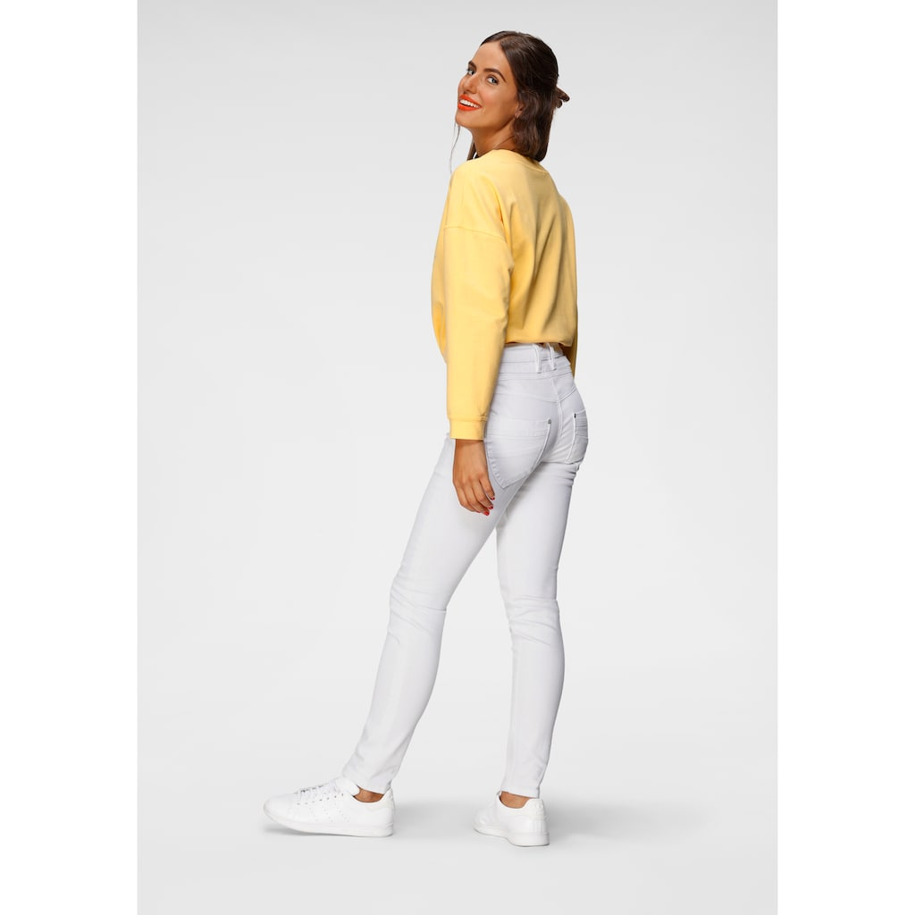 GANG Skinny-fit-Jeans »Medina«, mit stylischer halb offener Knopfleiste