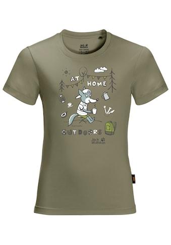 Jack Wolfskin T-Shirt »HAPPY CAMPER T KIDS« kaufen