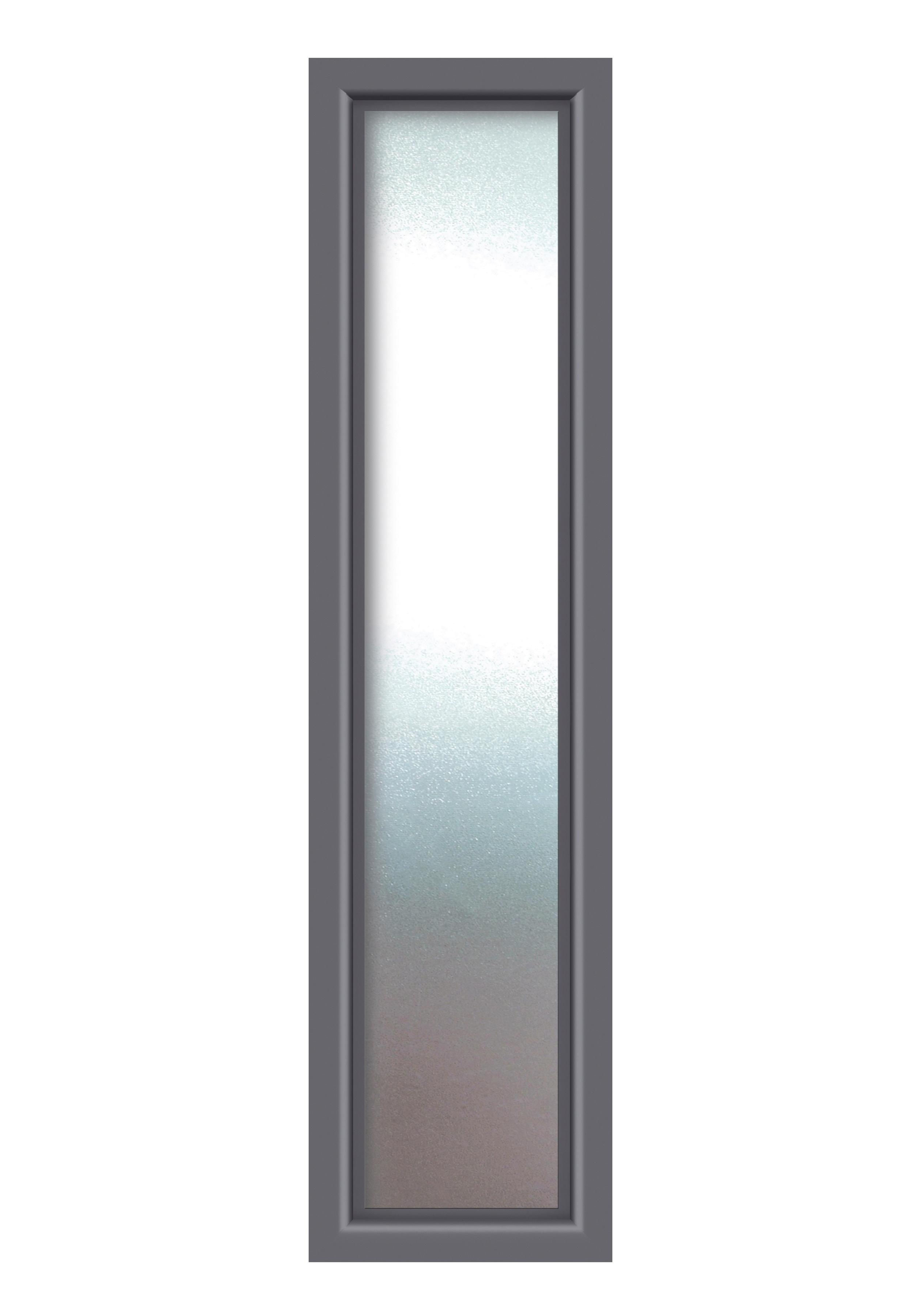 KM MEETH ZAUN GMBH Seitenteile »S01«, für Alu-Haustür, BxH: 60x208 cm,  anthrazit online bestellen   BAUR