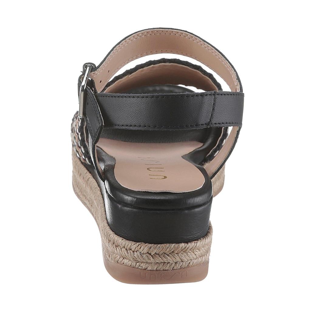 Unisa Sandalette »Giro«, mit Ethno-Muster