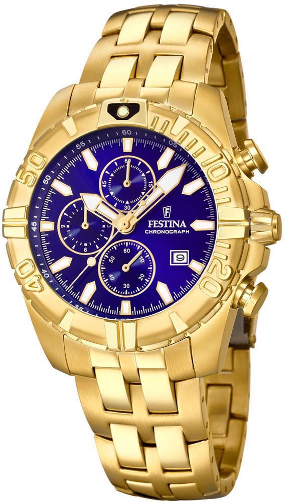 Festina Chronograph Chrono Sport F20356/3 | Uhren > Chronographen | Goldfarben | Festina