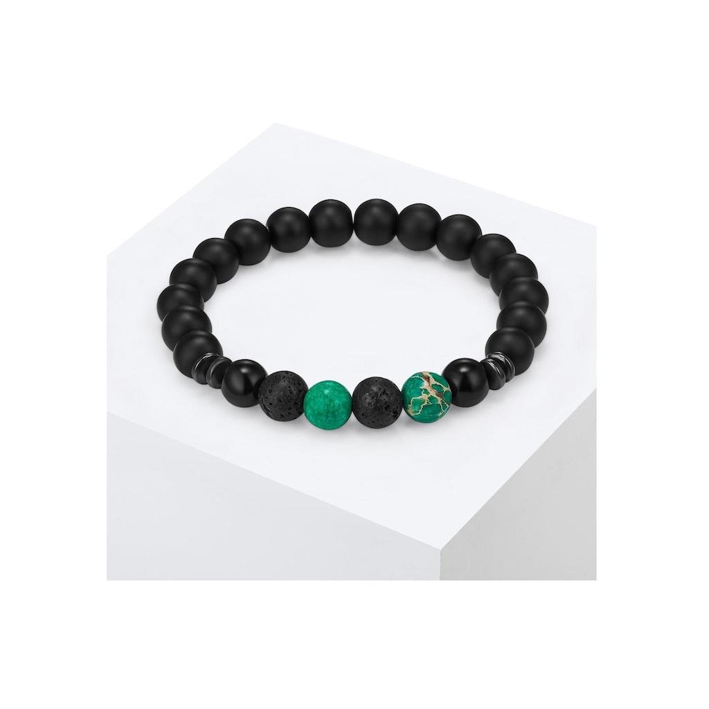 Gemdor Armband »Engeriearmband, 50160005«, mit Onyx, Jaspis, Lavastein und Hämatit