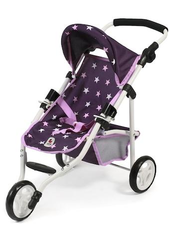 CHIC2000 Puppenbuggy »Jogging-Buggy Lola, Stars lila«, mit klappbarem Verdeck kaufen
