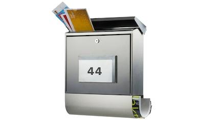 BURG WÄCHTER Briefkasten »Malaga 4400 Ni«, Solar - Briefkasten kaufen