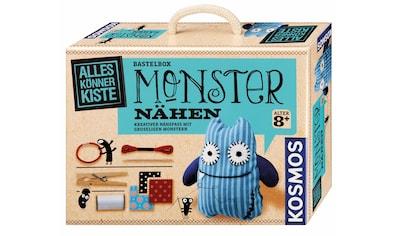 "Kosmos Kreativset ""AllesKönnerKiste Monster nähen"" (Set) kaufen"