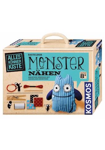 Kosmos Kreativset »AllesKönnerKiste Monster nähen«, (Set), Made in Germany kaufen