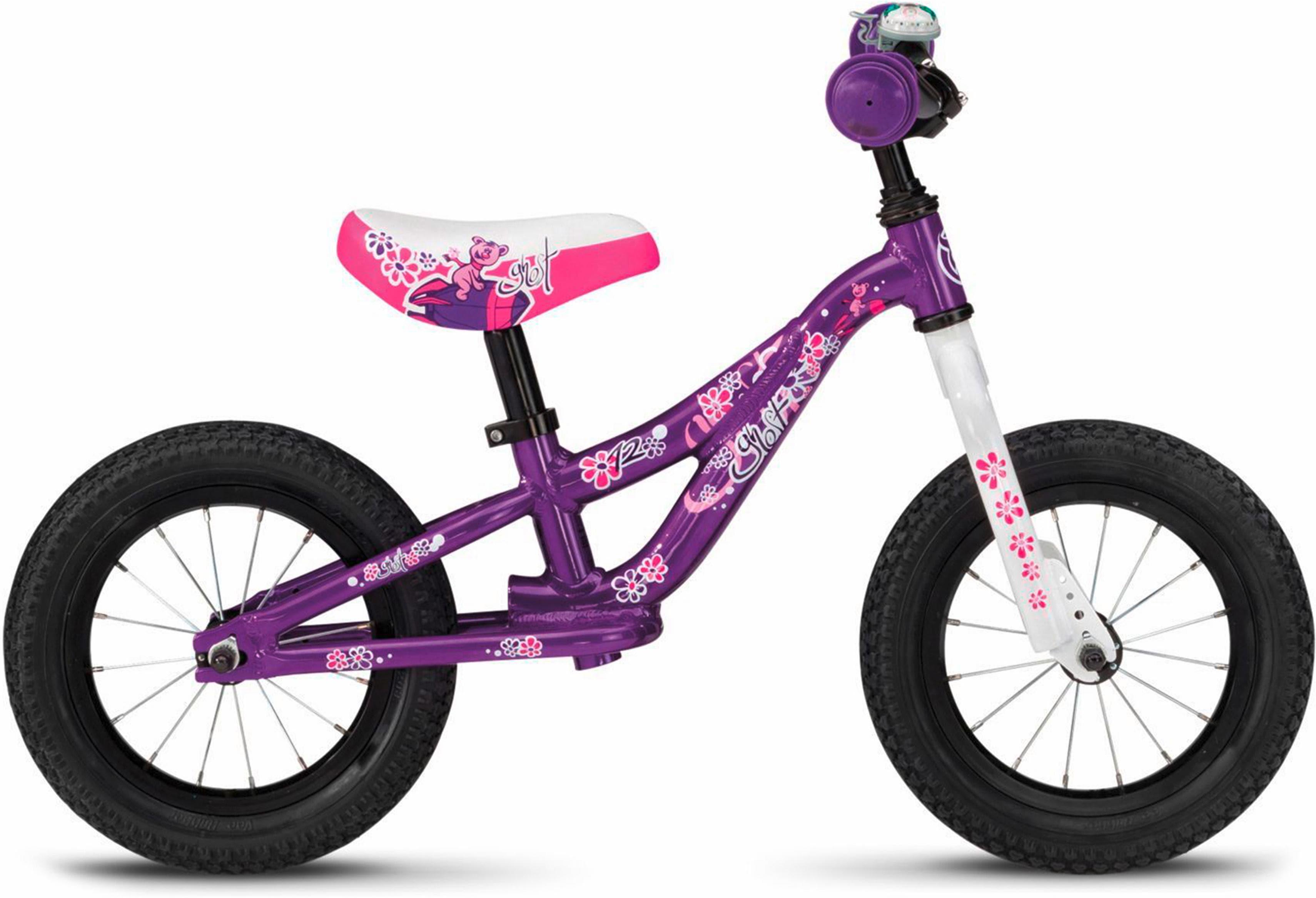 Ghost Kinderfahrrad POWERKIDDY AL 12 K lila Kinder Kinderfahrräder Fahrräder Zubehör Fahrrad