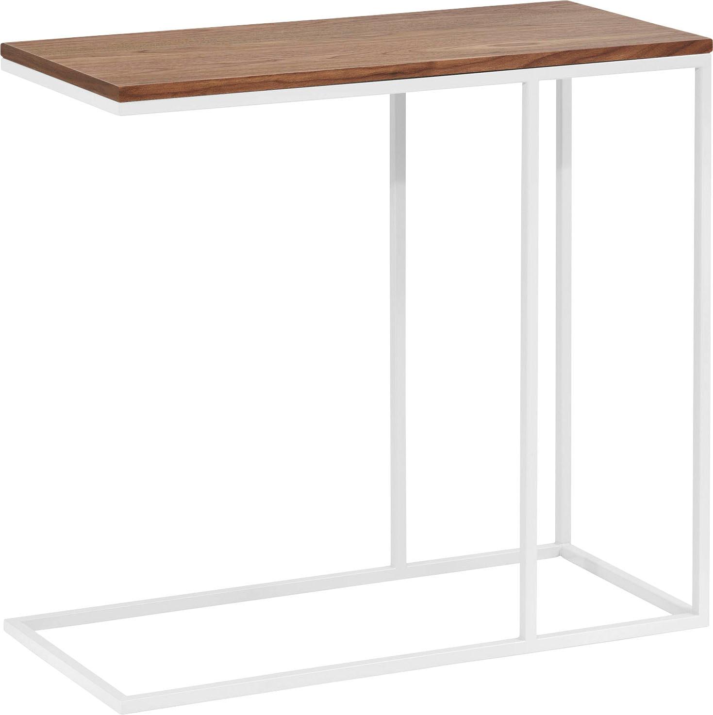 Now! By Hülsta now by hülsta Beistelltisch CT 17, mit weißem Gestell, Höhe 65 cm weiß Beistelltische Tische