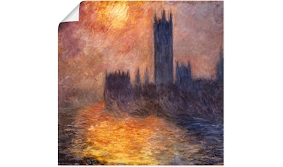 Artland Wandbild »Parlament in London bei Sonnenuntergang«, Sonnenaufgang &... kaufen