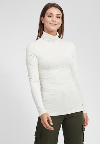 OXMO Langarmshirt »Rosa«, Longsleeve in Basic-Optik kaufen