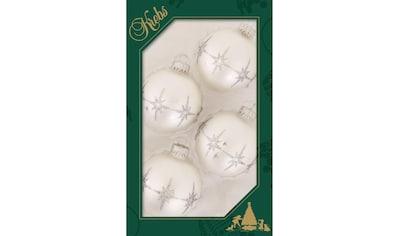 """Krebs Glas Lauscha Weihnachtsbaumkugel """"Bethlehem - Sterne"""" kaufen"""