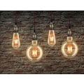 Paulmann LED-Leuchtmittel »Vintage Globe125 4W E27 Gold 1700K«, Extra-Warmweiß