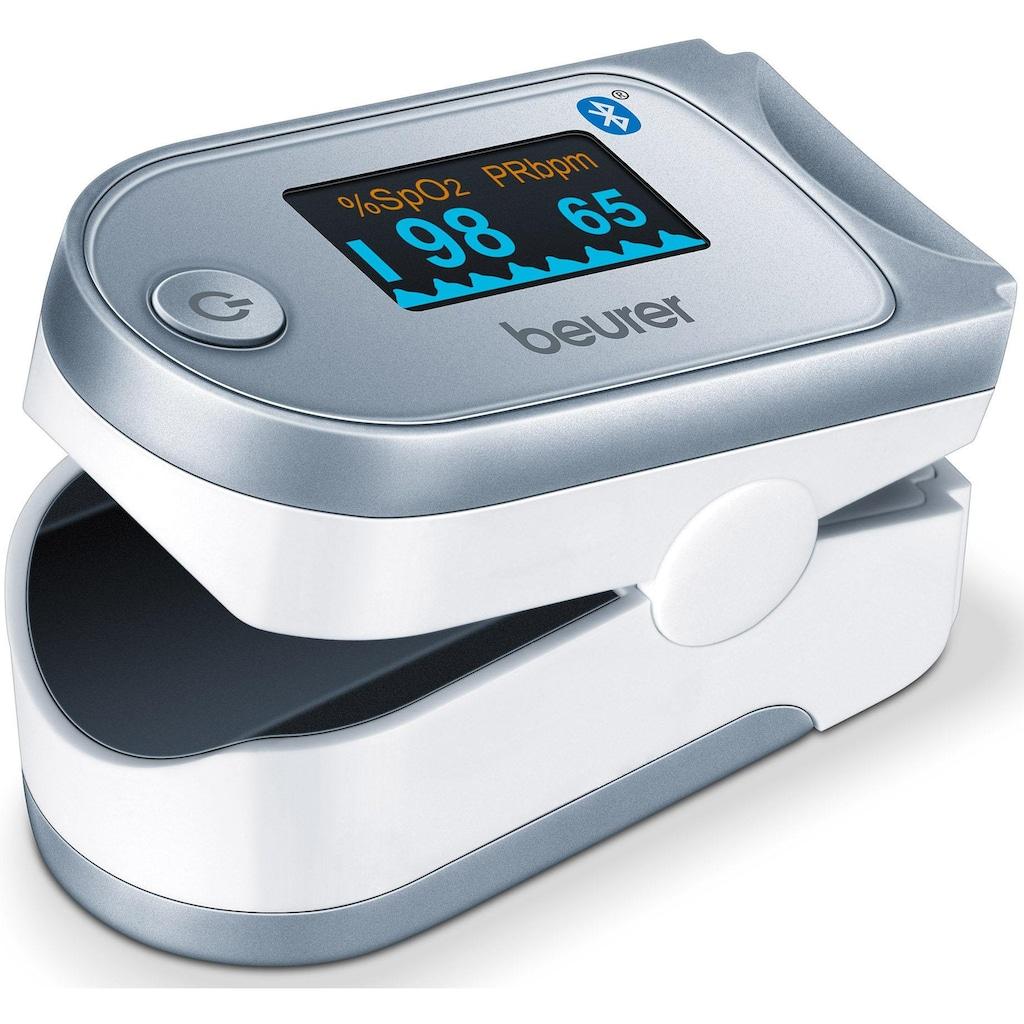 BEURER Pulsoximeter »PO 60«, innovative Vernetzung zwischen Smartphone und Pulsoximeter
