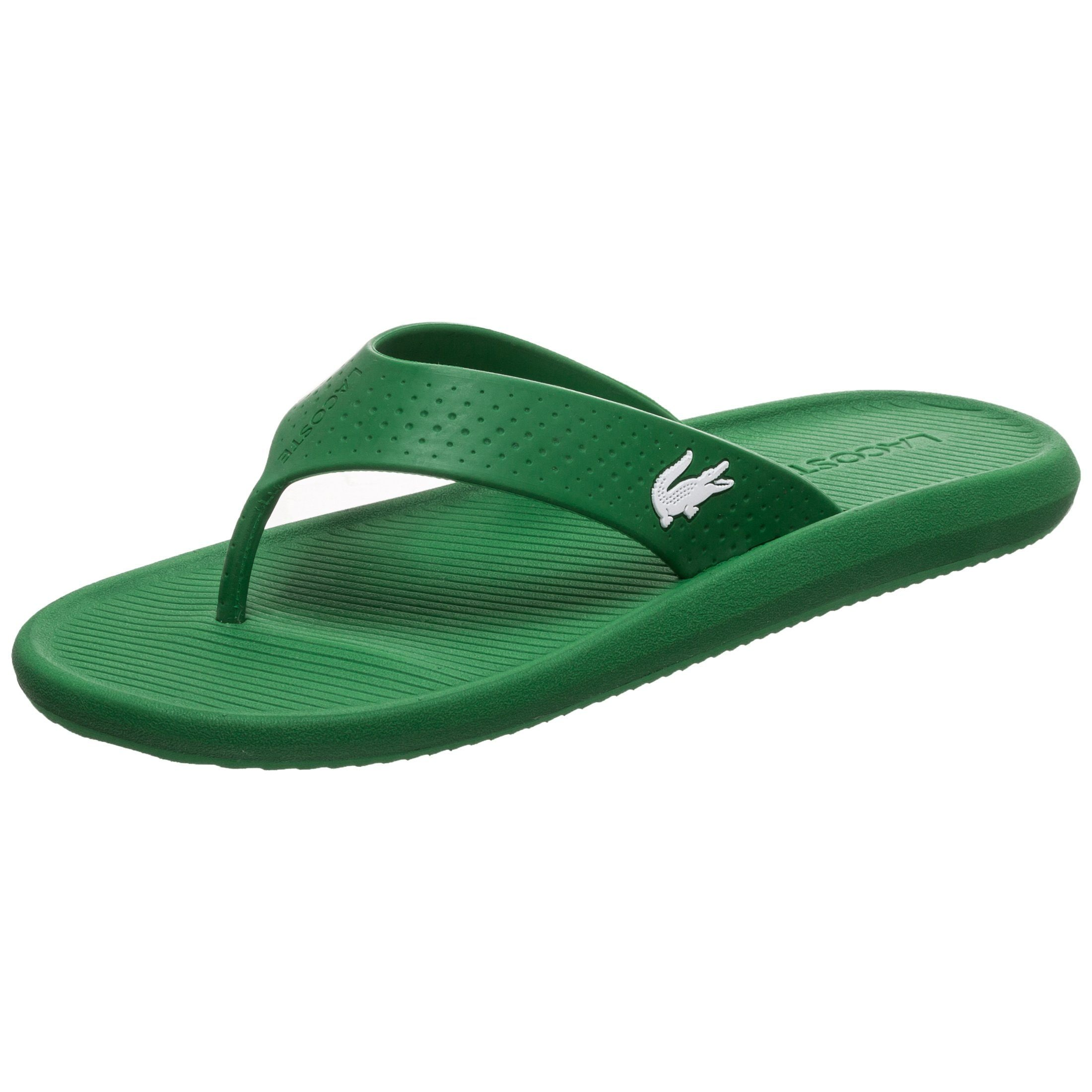Lacoste Zehentrenner Croco | Schuhe > Sandalen & Zehentrenner | Lacoste