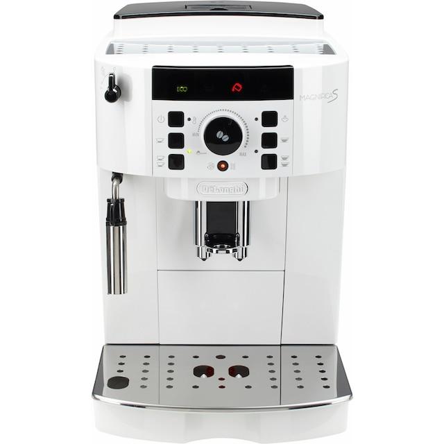 De'Longhi Kaffeevollautomat ECAM 21.118.W, 1,8l Tank, Kegelmahlwerk
