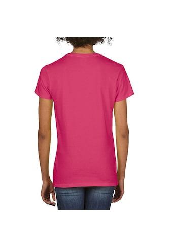 Gildan V-Shirt »Damen Premium T-Shirt mit V-Ausschnitt« kaufen