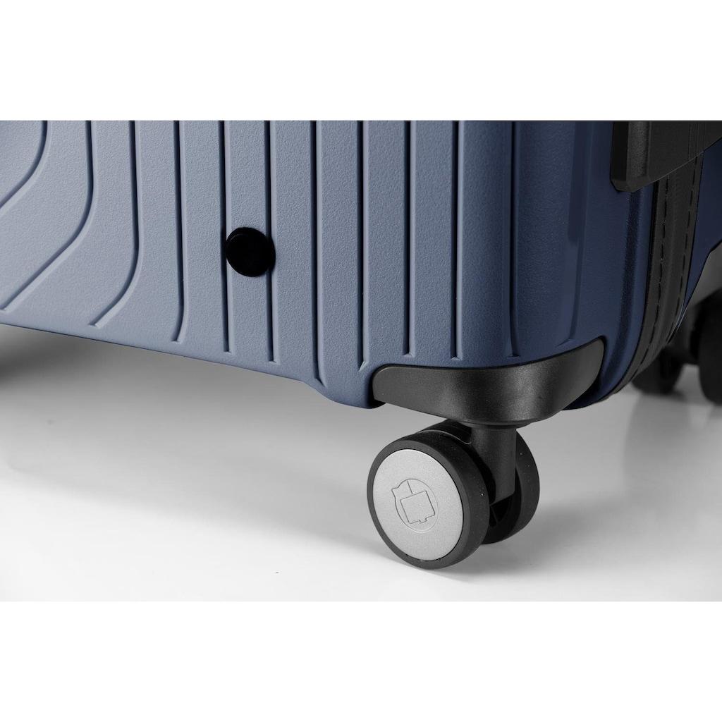 Hauptstadtkoffer Hartschalen-Trolley »TXL, 66 cm, dunkelblau«, 4 Rollen