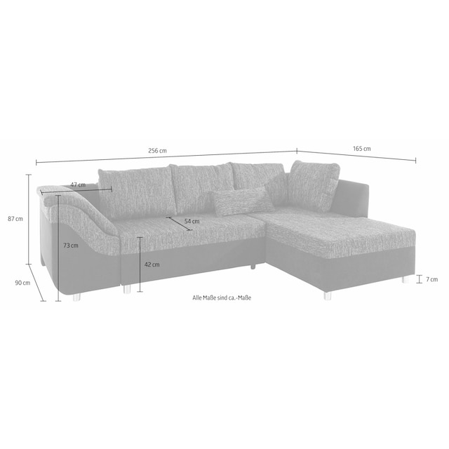 COLLECTION AB Ecksofa