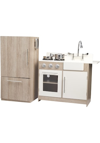 """TEAMSON™ KIDS  Spielküche """"braun/weiß"""", Holz kaufen"""