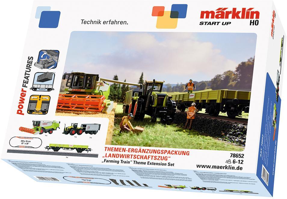 Märklin Güterwagen Märklin Start up - Themen-Ergänzungspackung Landwirtschaftszug - 78652, Spur H0