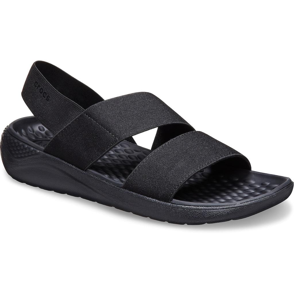 Crocs Riemchensandale »LiteRide Stretch Sandal«, in klassischem Look
