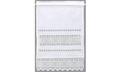 HOSSNER - ART OF HOME DECO Panneaux »Birnhorn«, Häkelspitze - ECHTE Handarbeit kaufen