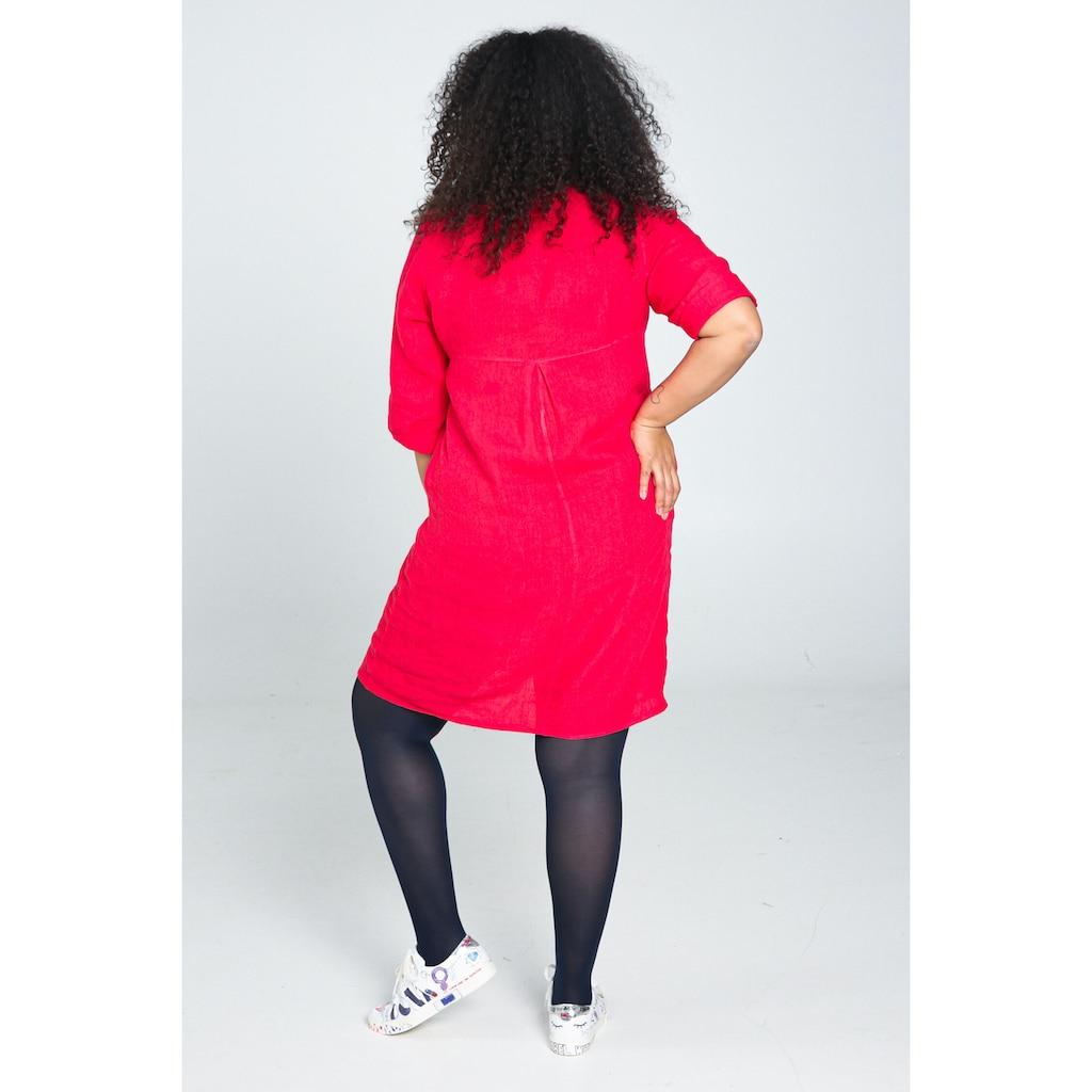 Paprika Blusenkleid »Rundhals geblümt«, bequem zu tragen