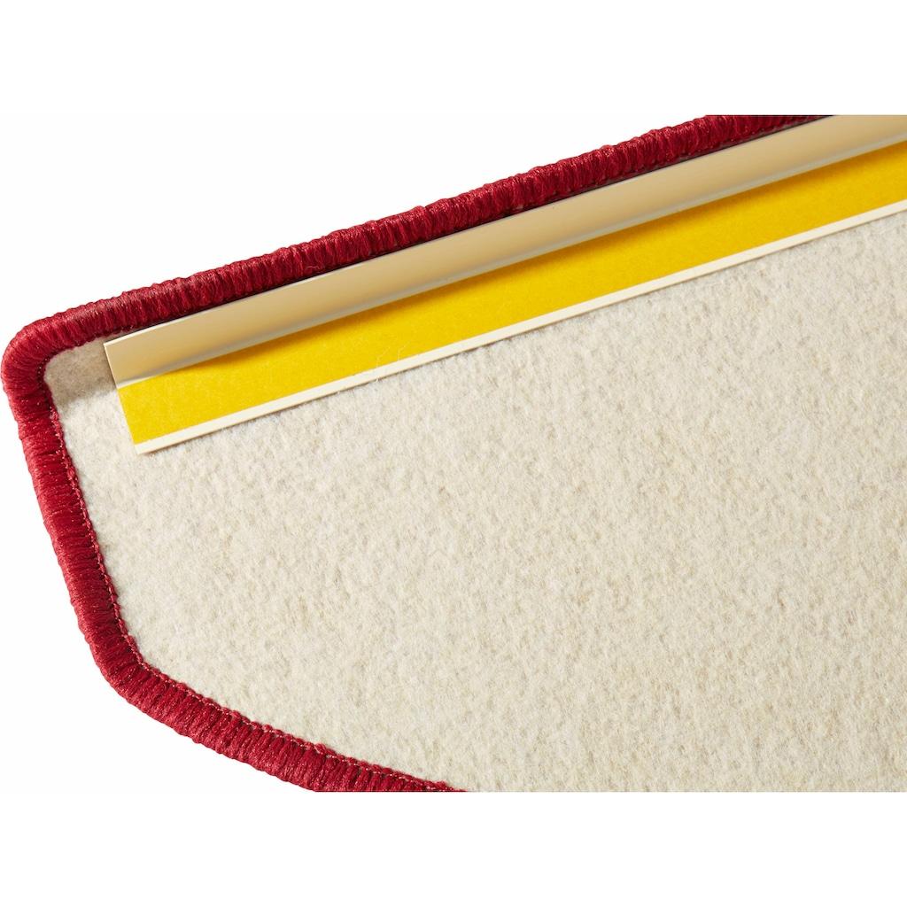 HANSE Home Stufenmatte »Fancy«, halbrund, 7 mm Höhe, 15 Stück, große Farbauswahl