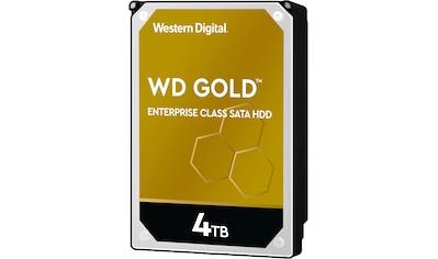 "Western Digital HDD-Festplatte »WD Gold«, 3,5 "", SATA Enterprise-Klasse, Bulk kaufen"