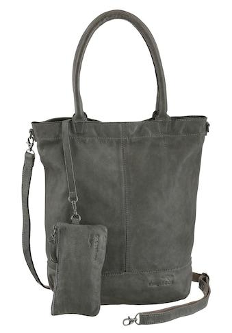 KangaROOS Shopper »Amber«, aus weichem Leder mit abnehmbarer Reißverschluss-Tasche kaufen