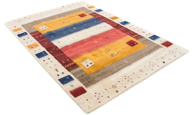 Wollteppich, »Gabbeh Soni«, carpetfine, rechteckig, Höhe 15 mm, handgewebt kaufen